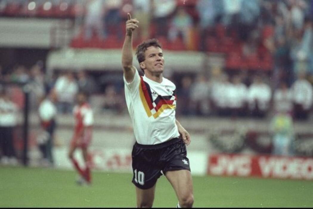 Lothar Matthaeus. Exfutbolista y entrenador alemán. Es el jugador que ha...