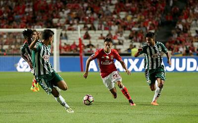 """El mexicano Diego Reyes dice que el Porto es un club """"ideal"""" para crecer..."""