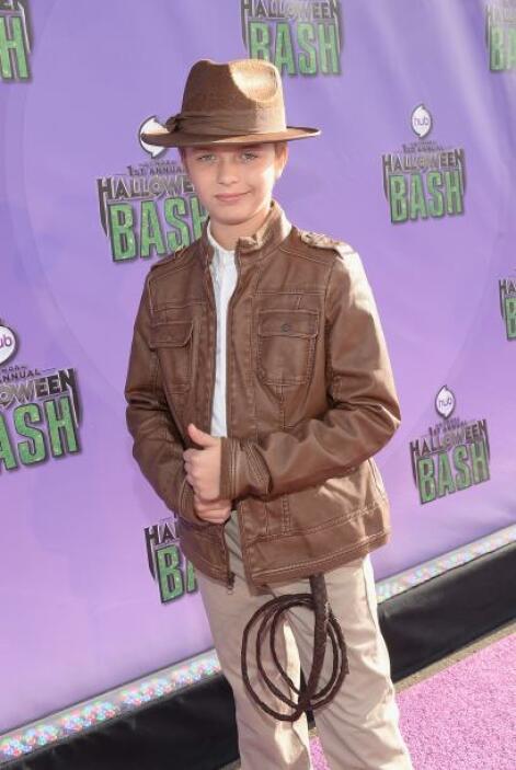 También estuvo presente una versión 'mini' de Indiana Jones. Para este d...