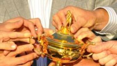 El anhelado trofeo de la Ryder Cup.