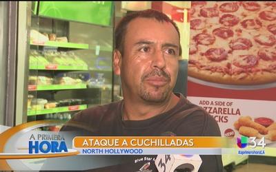Hombre fue acuchillado en North Hollywood