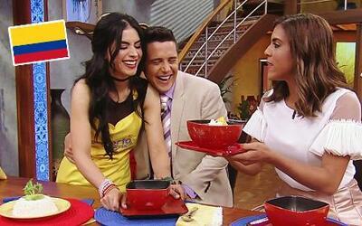 Celebramos la independencia colombiana cocinando un Ajiaco con Jessica C...