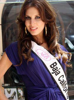 Baja California está representado por Ana Sofía Gallego de...