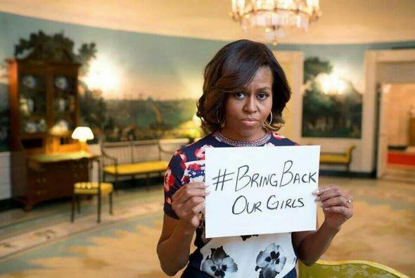 La primera dama de Estados Unidos, Michele Obama, se expresó en redes so...