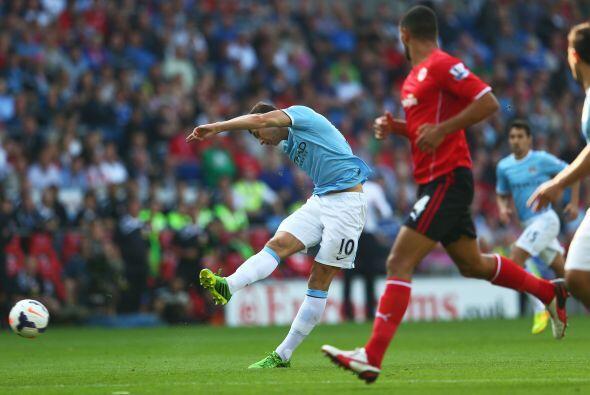 Hasta el segundo tiempo apareció el primer gol del partido.