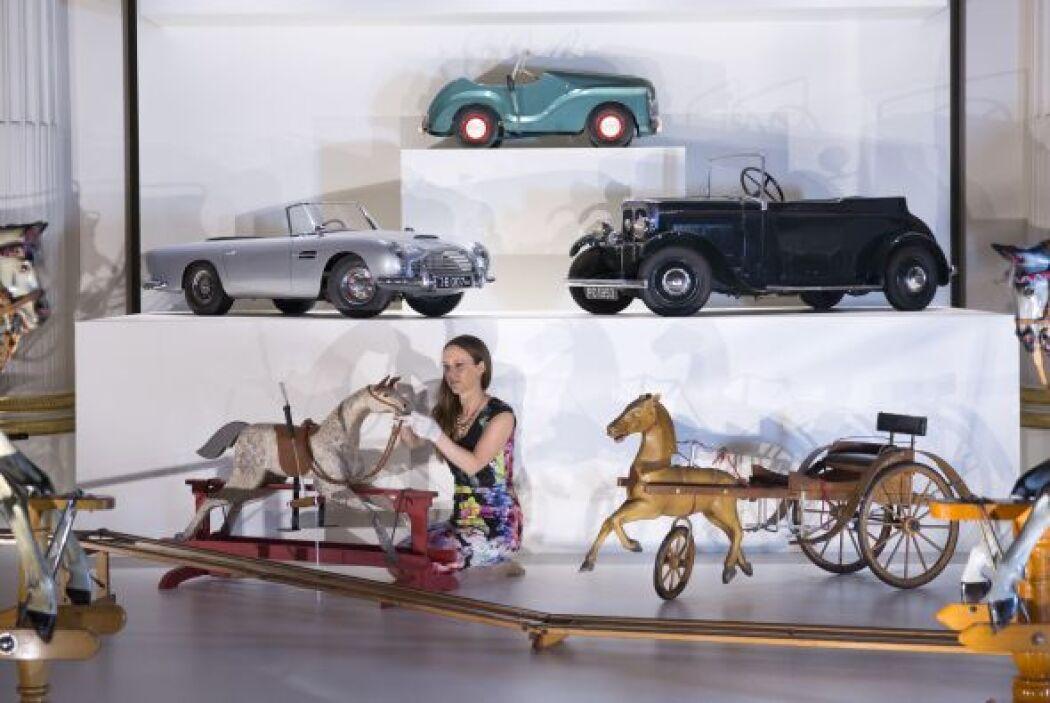 El gusto de los príncipes por ciertos juguetes evolucionó de los carruaj...