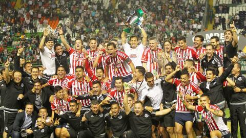 Chivas, campeón de la Copa MX