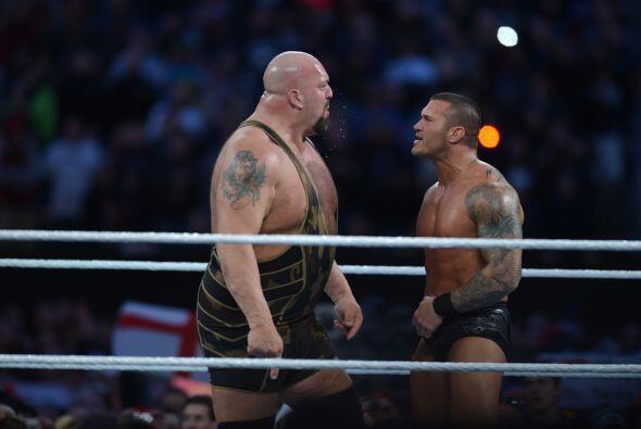 Detalle final, Big Show culpó a Randy Orton de la derrota y terminó golp...
