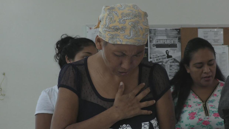 Uno de los hijos de Isidra Pérez fue asesinado por las bandas criminales.