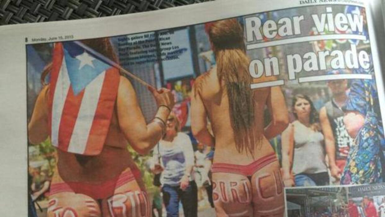 Puertorriqueños se sienten ofendidos por esta foto publicada el lunes