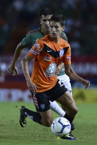 Jurgen Damm.- El mediocampista del Pachuca es un jugador inamovible en l...