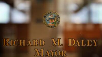 El actual alcalde de Chicago, Richard Daley, anunció el 7 de septiembre...