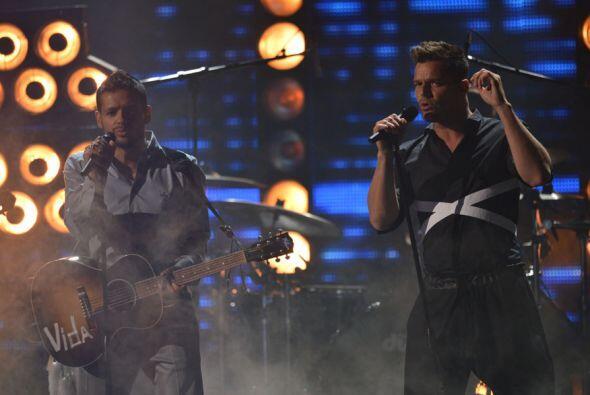 Tanto Draco como Ricky estaban emocionados de encontrarse en un escenario.