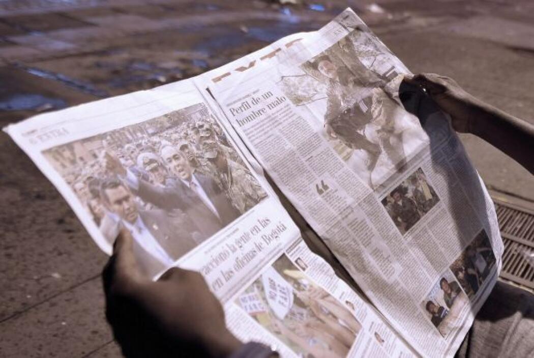 """""""Era un hombre muy apreciado dentro de las FARC. Era un mito"""", según Avi..."""