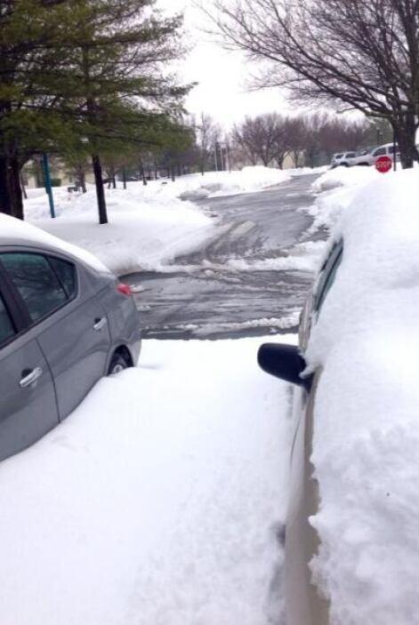 Are Martínez nos indica que en Virginia ya han parado las nevadas.