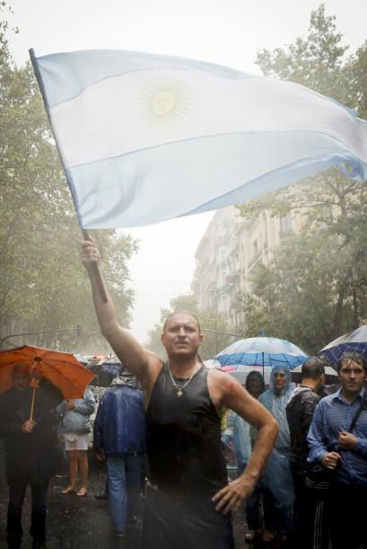 """Los argentinos también denominaron a la movilización como """"marcha de los..."""