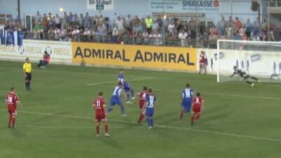 Aleksandar Djordjevic y Vujanović emularon la jugada de Cruyff