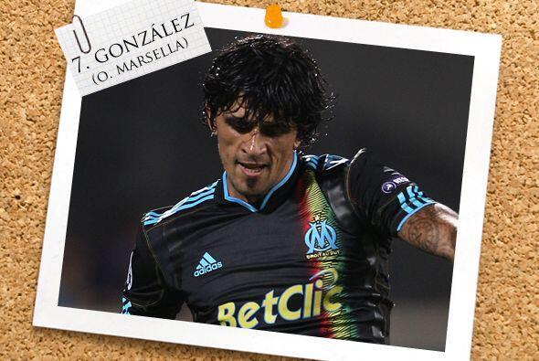 El argentino Lucho González no desentonó con el Marsella y...