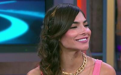Alejandra Espinoza madrugó en su cumpleaños para su sesión de fotos de l...