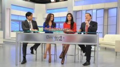 El show Despierta América de la Cadena Univision se transmite de lunes a...