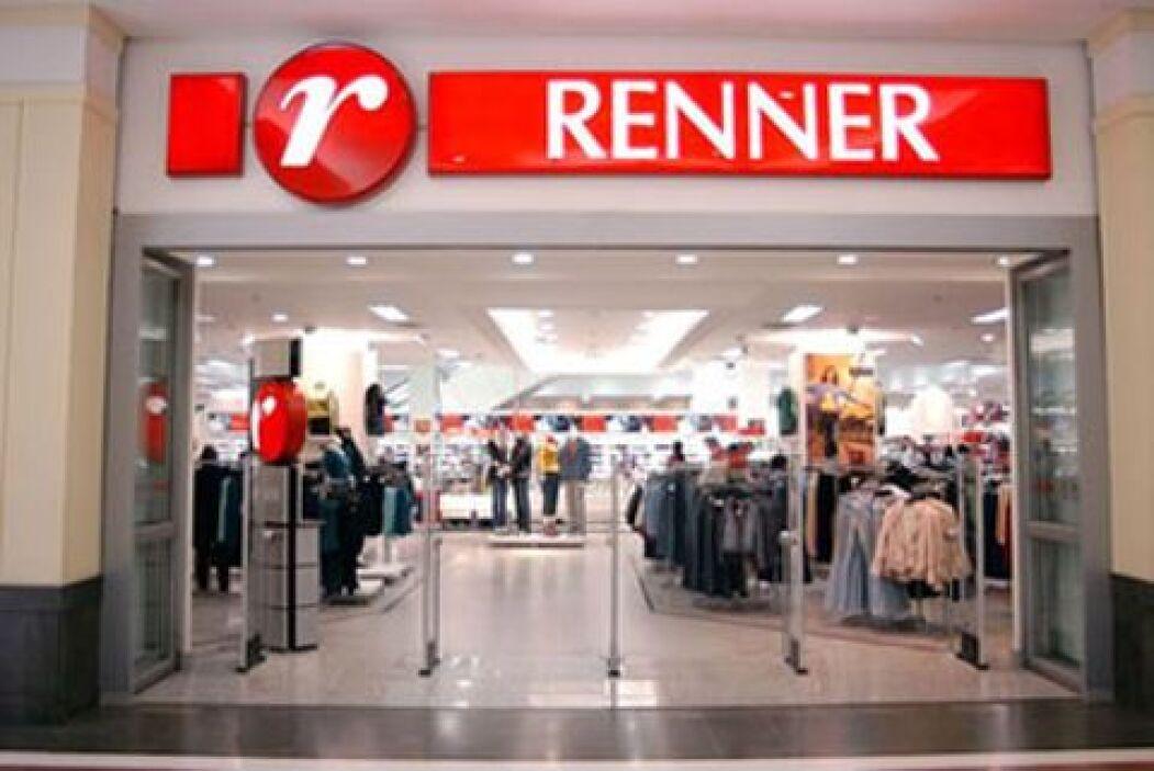 9. RENNER. Estas tiendas departamentales brasileñas están valuadas en 35...