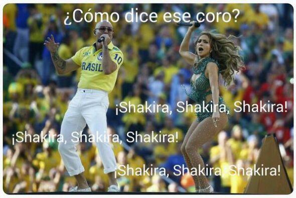 Hasta el público pedía a Shakira. Todo sobre el Mundial de...