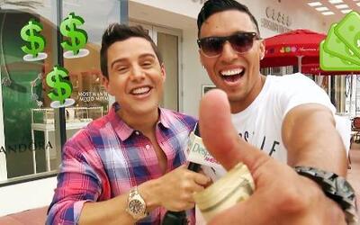 Despierta y gana: Alejandro Chabán se fue a repartir dinerito a la calle
