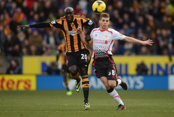 Liverpool visitaba al Hull City pensando en un buen resultado para tomar...