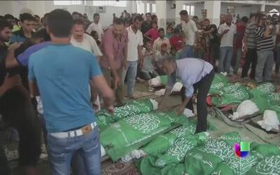 Israelíes y palestinos siguen contando muertos