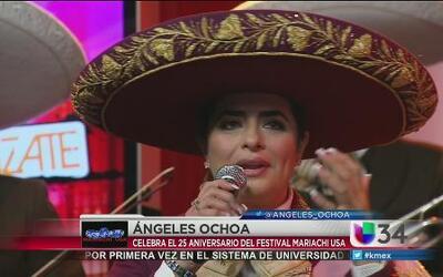 Angeles Ochoa vuelve a los escenarios