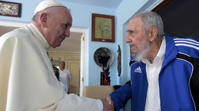 Portavoz del Vaticano confirmó visitan del Papa con Fidel Castro