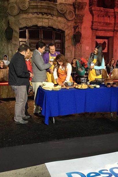 ¡Ahora nos enseñan cómo hacer unos deliciosos tamales!
