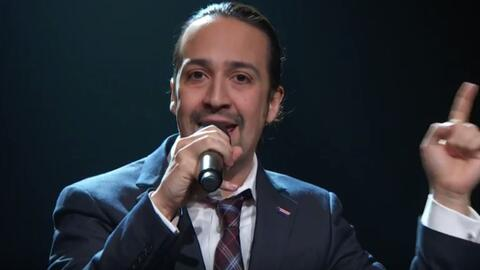 Lin-Manuel Miranda en Last Week Tonight with John Oliver