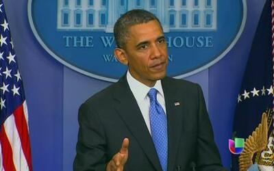 El presidente Barack Obama habló hoy de reforma migratoria