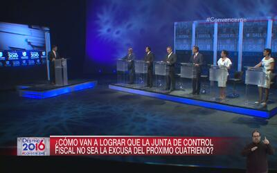 Los candidatos explican su plan ante la crisis fiscal que aqueja a Puert...