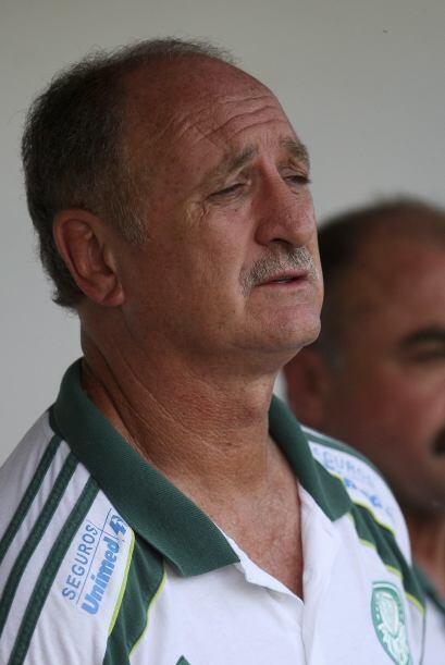 A pesar de la cara de angustia de Felipao, Palmeiras ganó su segundo enc...