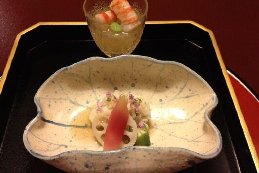 En Japón uno debe ser aventurero, pues lo que se come puede estar cocido...