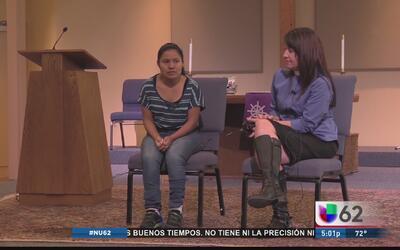 Inmigrante guatemalteca se refugia en iglesia de Austin