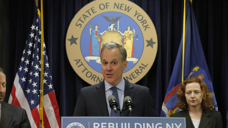El secretario de Justicia de Nueva York, Eric Schneiderman.