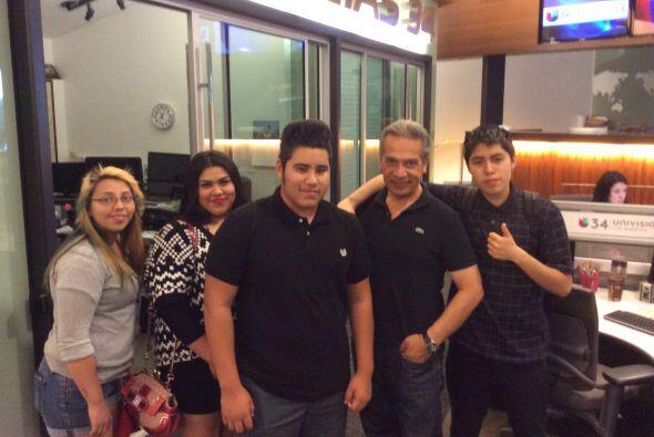 También conocieron a los talentosos miembros del equipo de Noticias 34....