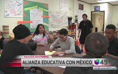Universidad mexicana busca establecer programas de estudio binacionales...