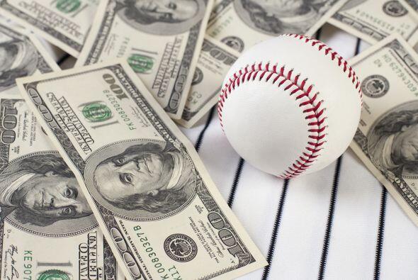 El salario promedio de las Grandes Ligas el domingo, cuando se definan l...
