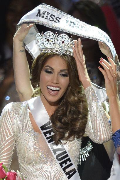 Gabriela no la tuvo fácil la competencia y la corona la estaba peleando...