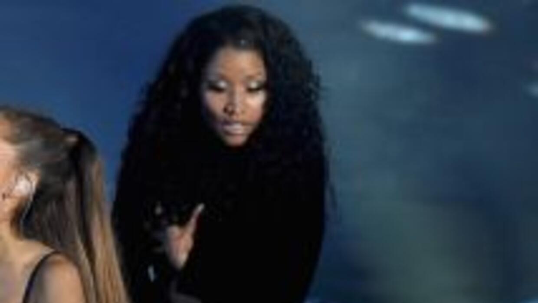 Nicki Minaj mostró un rostro de preocupación, cuando supuestamente se le...