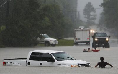 Inundaciones en Magnolia, Texas