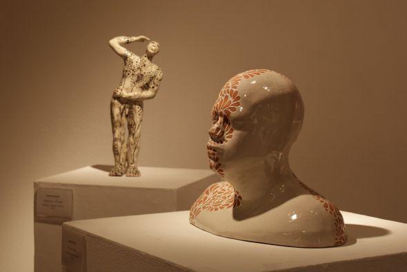 Piezas de cerámica.