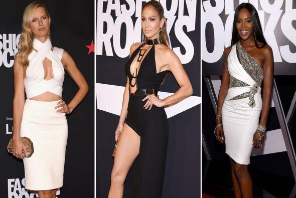 La moda y la música se fusionaron en tremendo evento, al que arribaron g...