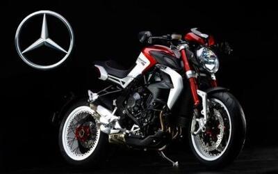 Mercedes obtuvo el 25% de la compañía de motos MV Agusta.