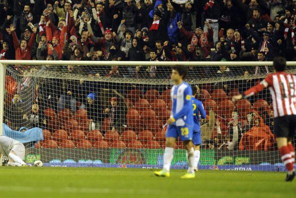 Javier Martínez metió el 3 a 2 a favor del Bilbao y era fi...