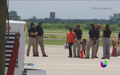 Llegó a Honduras el segundo vuelo con niños deportados de Estados Unidos